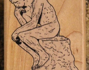 Museum Stamps Collectible | Auguste Rodin, The Thinker (MS150C)
