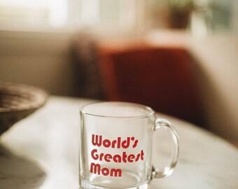 World's Greatest MOM, coffee mug, by The Bee & The Fox