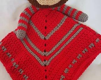 Rainbow Brite Inspired Crochet Lovey Pattern Instant Download