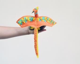 Felt Dragon and Fairy Doll - felt waldorf dragon, plush dragon toy, stuffed dragon, felt waldorf fairy doll, waldorf fairies, felt fairy