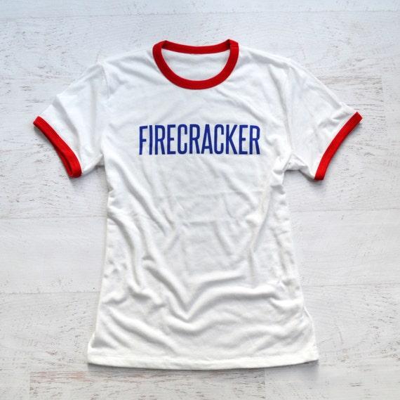 Firecracker Ringer Tee