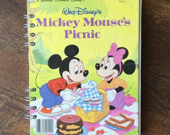 Mickey Mouse Autograph Book - Disney Autograph Book - Mickey and Minnie Autograph Journal with blank pages - Minnie Autograph Book