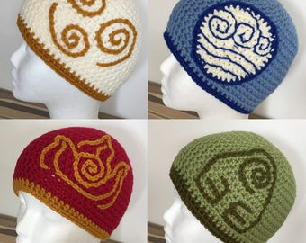 Avatar the Last Airbender inspired Hats!