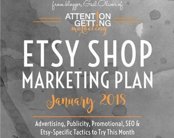 One of My Best Selling Items – Etsy Marketing Plan for January 2018 with Actionable Tactics To Drive More Traffic to Your Etsy Shop