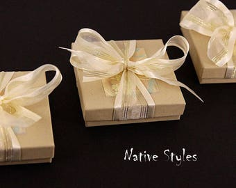Present Gift Wrapping Add On~Gift Upgrade for Jewellery bought from Native Styles~Christmas Gift Wrap~Gift Box for Jewelry~Stocking Stuffer