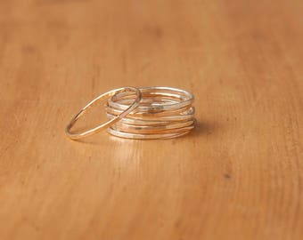 Silver Ring, Stackable Ring, Thin Ring, Sterling Silver Ring, Dainty Ring, Stacking Rings, Rings, Silver Ring, Thin Silver Ring, Stack Ring