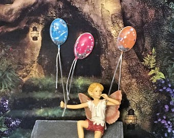 Seven Balloons Miniature 3D Stickers, Scrapbook Supplies, Miniature Scenes, Card Embellishments