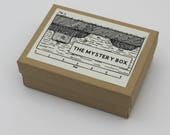 mystery box, mystery gift, Mystery story, puzzle gift, hand made books, unique gift, map gift, history lover, teacher gift, gift for him
