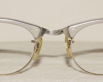 Mid Century Cat Eye Glasses Frames Vintage Retro