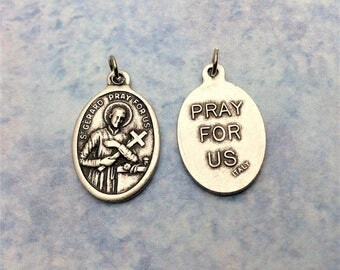St Gerard Patron Saint of Expectant Mothers, Fertility, Pregnancy, and Childbirth / Saint Gerard Medal