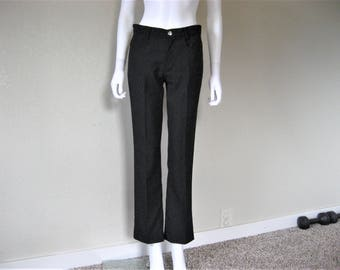 Miss Sixty 90s Black Perm Pressed Pants / styled in Italy
