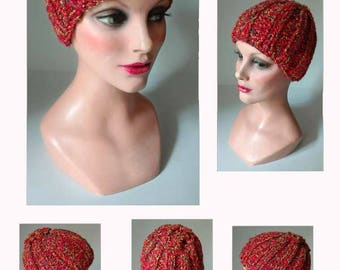 Hat, wool winter hat, knit