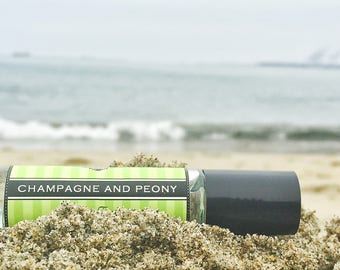 CHAMPAGNE AND PEONY roll on perfume // Birthday Gift // A delicious fruity floral scent / premium perfume