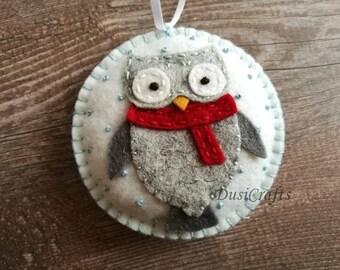 Christmas owl  Etsy