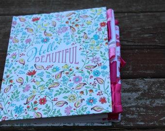 Hello Beautiful Altered Journal