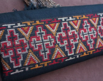 Tribal Scarf, Warm Scarf, Ethnic Neckwear, Boho Chic Shawl, Bohemian Scarf, Tribal Wrapping, Grande Echarpe Tribale