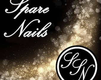 Spare False Nails - Press On Nails Add-On - Sarah's Sparkles Nails