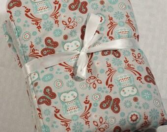 Owl Lovey, Baby Blanket