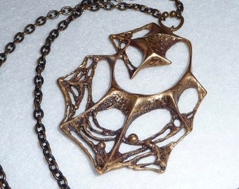 Karl Laine (Finland). Pendant. Bronze. Vintage.
