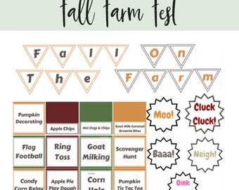 Fall on the Farm- Farm Fest Pack
