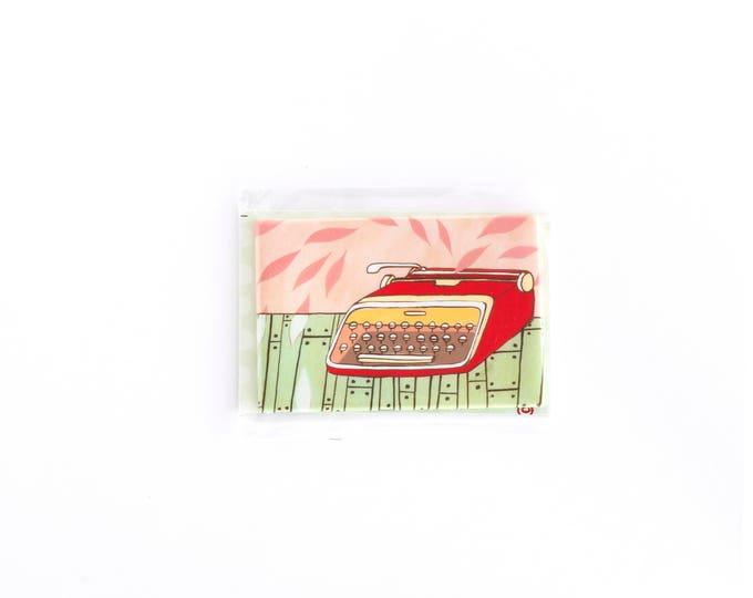 Retro Typewriter Magnet