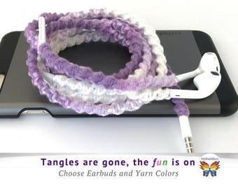Lightning EarPods Tangle Free Earbuds EarPhones for iPhone iPad Gift for Teenage Boys Girls Custom Headphones School Colors for Students