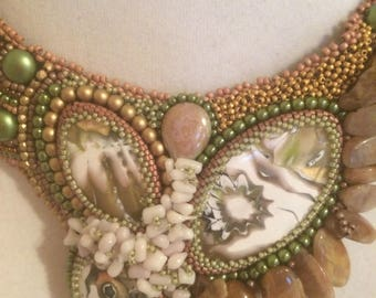 Bead Embroidery Collar