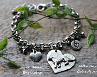 Ferret Bracelet, Ferret Jewelry, Ferret Gift, Weasel Jewelry, Pet Ferret, Ferret MOM (Read Listing Details)