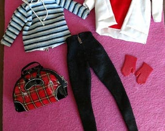 """Vintage Barbie """"WINTER HOLIDAY"""" #961 Almost Complete In EXCELLENT Condition!"""