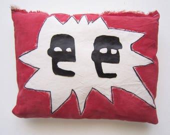 Home decor Jean Michel Basquiat graffiti decorative pillow gift New York City art birthday gift her gift him graduation art gift anniversary