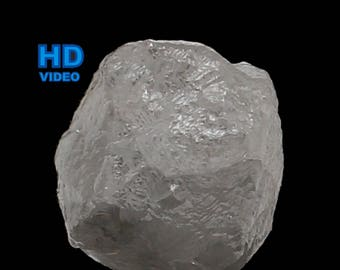 0.91 Ct Natural Loose Rough Diamond Grey Color 4.70X4.60X4.37 MM L8114