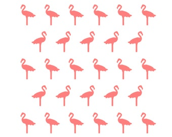 Flamingo Cookie Stencil, Flamingo Baking Stencil, Flamingo Sugar Cookie, 5.5 x 5.5, Flamingo Cake Stencil, Flamingo Party, Luau Cookies