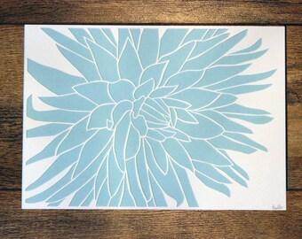 CLEARANCE - Dahlia Paper Cut