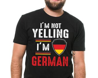German T-Shirt Gift For German Funny Germany Patriot Birthday Gift Ideas Tee Shirt