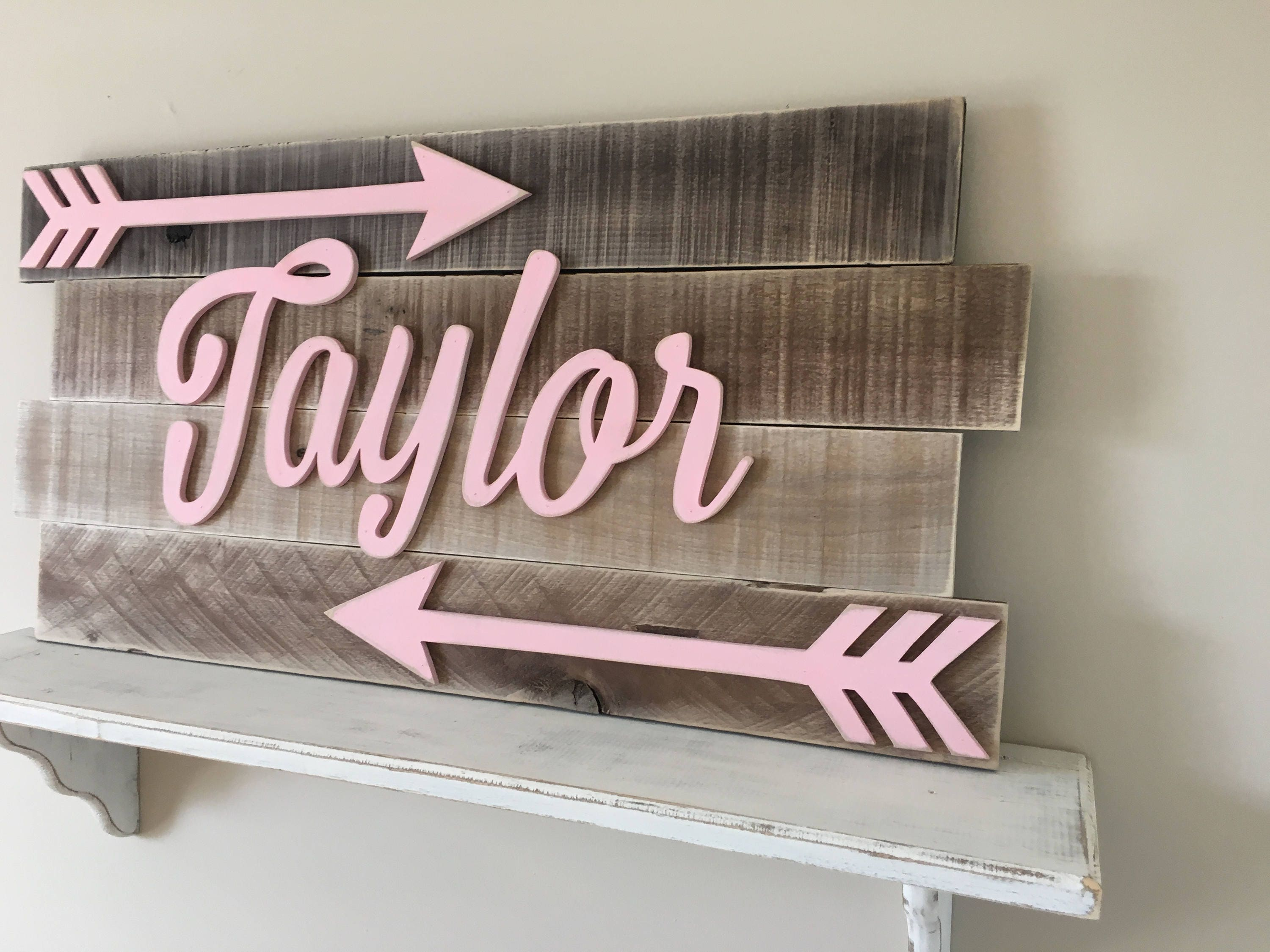 wall nursery letters me careyhead decorative for design wooden decor sign name baby