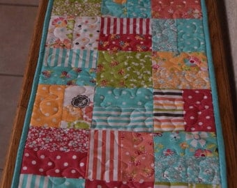 "Quilted Table Runner  12 "" x 42"""