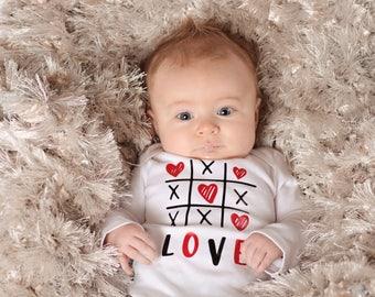 baby boy valentines shirt baby boy valentines day outfit 1st valentines day shirt - Baby Valentines