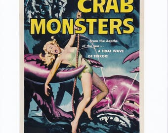 Attack of the Crab Monsters (1957) - Allied Artist Picture  - Movie Still Print