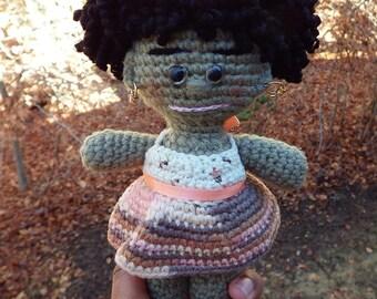 Crochet doll Tia