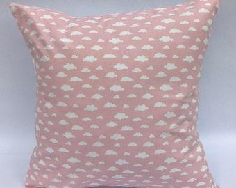 Cloud cushion, Children's pillow, cloud pillow, pink cloud cushion, new baby cushion, nursery cushion, cloud nursery decor, cloud decor