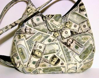 Women's Handbags, Women's Purses, Hobo Bags, Hobo Purses, Money Bag, Gifts For Her, Women's Shoulder Bags, Made To Order