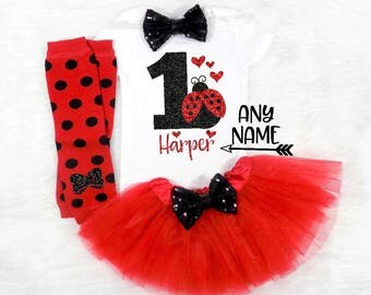 ladybug first birthday lady bug first birthday outfit love bug first birthday love bug first birthday outfit black and red first birthday