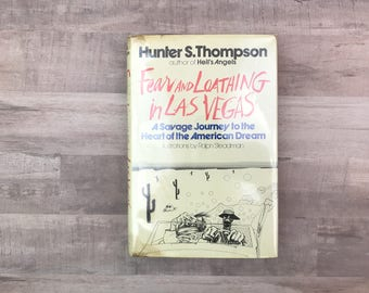 Fear And Loathing In Las Vegas - Hunter S. Thompson - Savage Journey To The Heart Of The American Dream - Ralph Steadman - Vintage Book 1971
