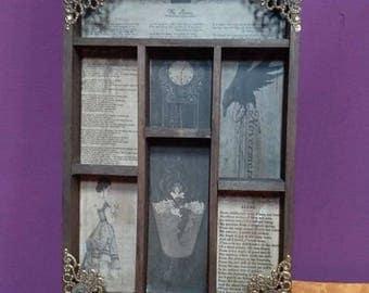 Edgar Allan Poe Cabinet of curiosities