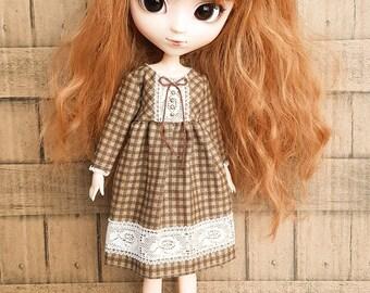 ElDollRado - mori autumn dress for Pullip, Blythe, Azone, Pure Neemo, Obitsu 27