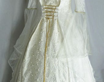 Pagan wedding dress | Etsy