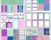 WK02 // Mermaid Collection // Planner Stickers