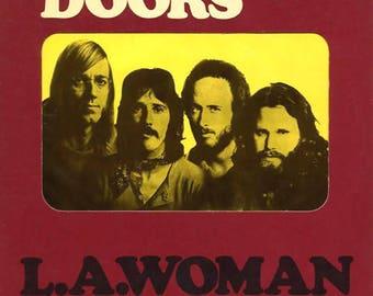The Doors - L.A. Woman - vinyl album (1971)