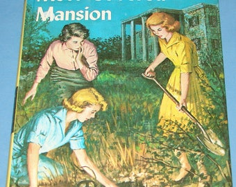 Nancy Drew #18 Mystery Moss-Covered Mansion Orig Text