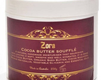 Cocoa butter souffle